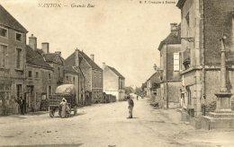 ++  CPA  NANTON . GRANDE  RUE - Frankreich