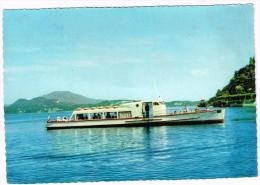 G2516 Navigazione Lago Maggiore - Motoscafo Cigno - 115 Passeggieri - Barche Boats Bateaux / Non Viaggiata - Altri