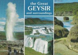 Iceland  The Great Geysir    # 02550 - Iceland