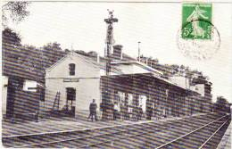 SAINTE MAURE - La Gare (Carte Photo) (61195) - France