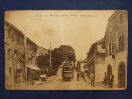 Moellesulaz  Route D´Anemasse  Tramway - ( Frontière ?) - Autres Communes