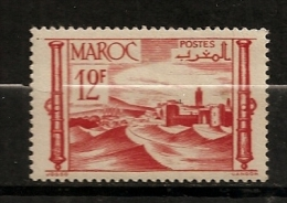 Maroc 1947 N° 261 Iso ** Courants, Forteresse, Sable, Désert, Armes, Canon - Nuevos