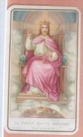 Litho Image Pieuse UOPC Souvenir De Mission Paroisse De BERTRIX Mars 1937   Namur P.J. CAWET - Images Religieuses