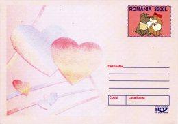 ROUMANIE. Entier Postal De 2003. Chien/Love. - Honden