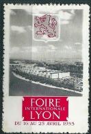 Vignette Foire De Lyon 1955 - Commemorative Labels