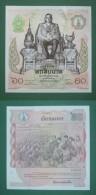THAILANDE Billet De 60 BATHS 1987 NEUF - Thailand