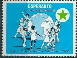 Vignette ESPERANTO - Timbres
