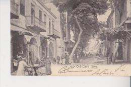 Old Cairo Le Caire  Pour Périgueux Dordogne Surcharge Imprimés  Animation  Peu Courante - Egypte