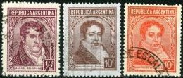 ARGENTINA, 1935-1951, FRANCOBOLLI USATI - Usati