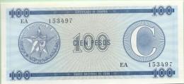 CUBA - 100 Pesos - 2 ème Série C - Pick  FX 25  - UNC - NEUF - Cuba