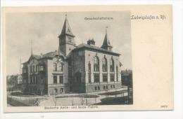 Ludwigshafen Am Rhein Gesellschaftshaus Badische Anilin Und Soda Fabrik Soda Fabric - Ludwigshafen