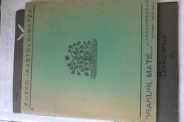 BASQUE Euzkara Txomin-ikaslea Esvastica - Schulbücher