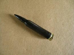 Cartouche 5,56mm De Manipulation En Plastique Noire. - Equipement