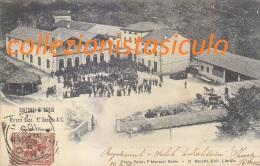 C-798- Dintorni Di Schio - Birreria Succ. F. Zanaria & C. Rocchette Piovene - Vicenza - F.p. Vg .1901 - Vicenza