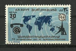 Egypt 1973 ( 5th World Telecommunications Day ) - MNH (**) - Posta Aerea