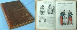 """Reliure De  """"Le Petit Journal Pour Rire"""" Pour L'année 1860 / Illustrations Gustave DORÉ, NADAR, Bayard, Riou, Etc. - Magazines - Before 1900"""