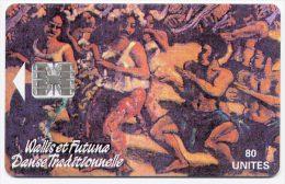 Télécarte 80 Unités N° WF8 Wallis Et Futuna 05/95 - Danse Traditionnelle, Jean Michon - Wallis And Futuna