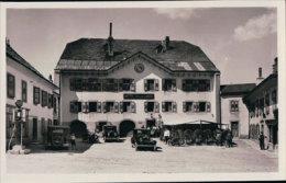Vallée De Joux, Le Brassus Voitures Devant L'Hôtel De La Lande (729) - VD Vaud