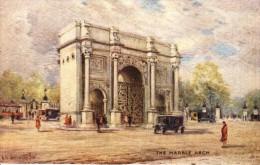 Arthur De Breanski - The Marble Arch Lying North Of Hyde Park  -  3584 - Tuck, Raphael