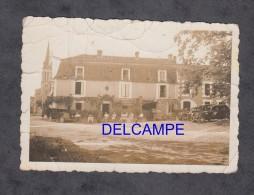 Photo Ancienne - Lieu à Identifer - Rassemblement D'automobile - Citroen Traction , Renault , Peugeot - Cars