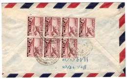 IRAQ - AIR MAIL COVER / MULTIPLE FRANKINGS - Iraq