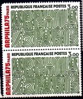 2 Timbres Neuf  MNH Stamps** France ARPHILA 75 PARIS Parfait Etat - 1900 – Paris (Frankreich)