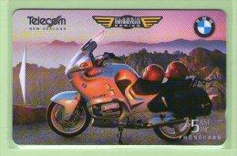 New Zealand - 1996 Classic Motorcycles $5 BMW - NZ-D-52 - Mint - New Zealand