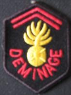 3ème Bataillon Du Génie Déminage - Blazoenen (textiel)