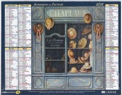 Almanach Du Facteur 2012 Magasin - Calendars