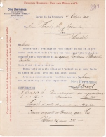 1911 DIEZ HERMANOS JEREZ DE LA FRONTERA SURCCURSALE A PARIS BERCY MAGASINS & BUREAUX RUE DE THORINS - France