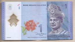 Malesia - Banconota Circolata Da 1 Ringgit - Polimero - Malesia