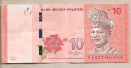Malesia - Banconota Circolata Da 10 Ringgit - Malesia