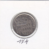 1 FRANC Nickel 1960 - Monaco