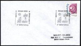 """PALLAVOLO ITALIA BERGAMO 2006 - 50^ MOSTRA FILATELICA """"LO SPORT A BERGAMO"""" - VOLLEYBALL / CYCLING / SWIMMING - Ciclismo"""