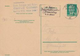 DDR, Postal Card 1955 W. Special Cancel - [6] República Democrática