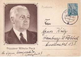 DDR, Postal Card 1956 - [6] République Démocratique