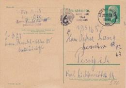 DDR, Postal Card 1963 W. Special Cancel - [6] República Democrática