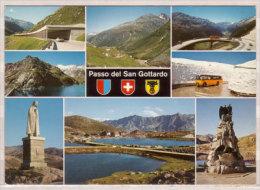 Passo Del San Gottardo , Tricini - Uru , Mehrbildkarte - Ohne Zuordnung