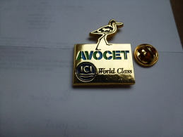 Superbe Pin´s En Zamac , Laboratoires ICI , World Class , Avocet - Medical