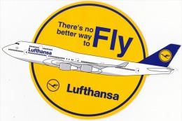 Lufthansa 47 Autocollants - Aufkleber