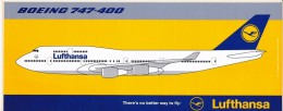 Lufthansa 13 Autocollants - Aufkleber