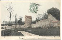 ETAMPES - Promenade Des Prés - LaTour Du Loup - Etampes