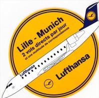 Lufthansa 29 Autocollants Rare ! - Aufkleber