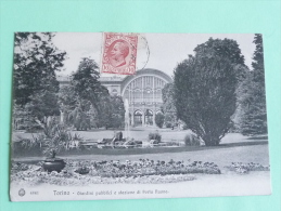TORINO - Giardini Pubblci E Stazione Di Porta Nuova - Parcs & Jardins