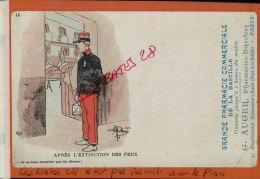 CPA Illustration  De Guillaume, ,Militaria, Fantaisies,  Après L'extintion Des Feux, Précurseurs, OCT 2013 213 - Guillaume