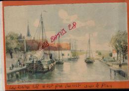 CPA   Lithographie, Signéee S. Scabe, MEISSNER & BUSCH Leipzig. Kunstier, Par Ges Gesch, Hollande,  Port, OCT 2013 2 - Künstlerkarten