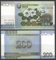 COREE DU NORD / NORTH KOREA - 200 WON 2005 - UNC / Pick 48 - Korea, North
