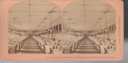 PH LM-13-040 : Vue Stéréoscopique Dining Hall Grand Union Hôtel Saratoga - Photos Stéréoscopiques