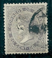 Spain 1867 Used Edifil 92 SG 104 - 1850-68 Kingdom: Isabella II
