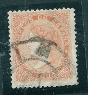 Spain 1867 Edifil 89A SG 101 Used - Used Stamps